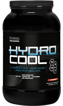 【線上體育】ULTIMATE NUTRITION HYDRO COOL STRAWBERRY 3LB(1.36kg)