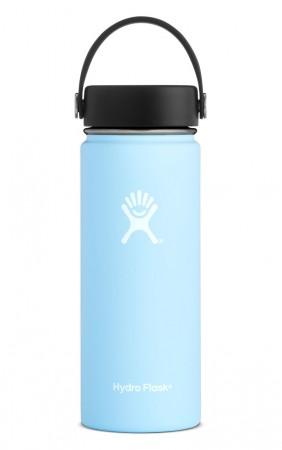 【線上體育】HYDRO FLASK HFW18TS440HYDRATION系列 真空保冷/熱兩用鋼瓶18oz寬口 冰雪藍, OS