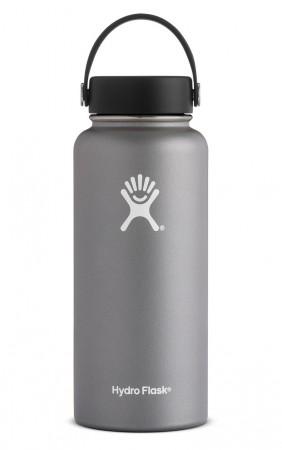 【線上體育】HYDRO FLASK HYDRATION系列 真空保冷/熱兩用鋼瓶32oz寬口 石墨灰, OS
