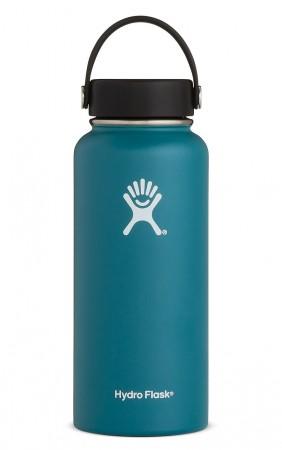 【線上體育】HYDRO FLASK HFW32TS380HYDRATION系列 真空保冷/熱兩用鋼瓶32oz寬口 玉石綠, OS