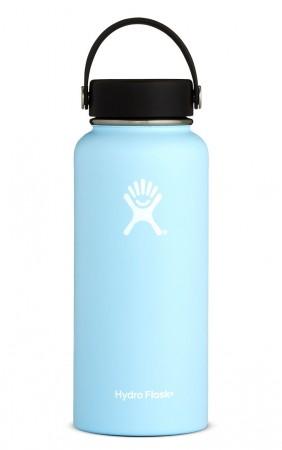 【線上體育】HYDRO FLASK HFW32TS440HYDRATION系列 真空保冷/熱兩用鋼瓶32oz寬口 冰雪藍, OS
