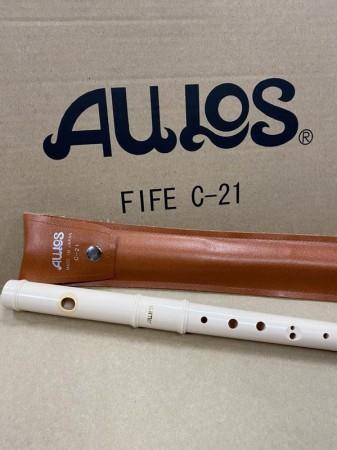 【線上體育】全新 AULOS FIFE C-21 菲菲笛 橫笛 指法同長笛