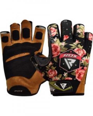 RDX021 【線上體育】RDX 健身 舉重手套女SUMBLIMATION F23 黑