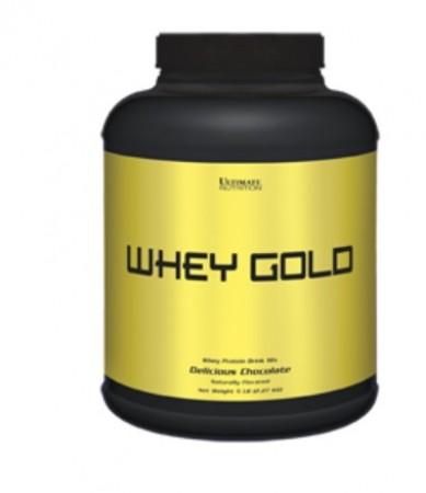 【線上體育】ULTIMATE NUTRITION 金牌乳清蛋白 WHEY GOLD巧克力 5LB