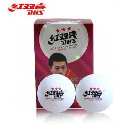 【線上體育】紅雙喜三星比賽球用桌球D40+新塑料ABS(10入)-D77928