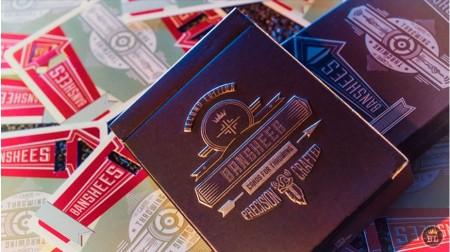 【USPCC撲克】Banshees 銀黑Playing Cards S102262