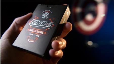 【USPCC撲克】Banshees 橘黑Advanced Playing Cards S103049188