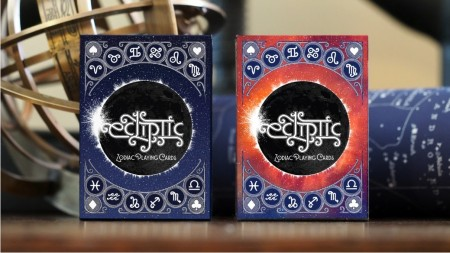 【USPCC撲克】Ecliptic Zodiac BLUE Playing Cards