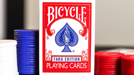 Limited Edition Bicycle Faro (Red) 撲克牌【USPCC撲克】S103049639