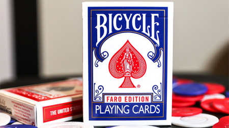 Limited Edition Bicycle Faro (Blue) 撲克牌【USPCC撲克】S103049640