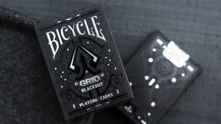 Limited Edition Bicycle Grid Blackout 撲克牌【USPCC撲克】S103049648