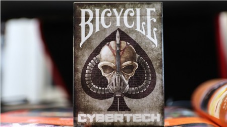 【USPCC撲克】Bicycle Cybertech Playing Cards S103049726