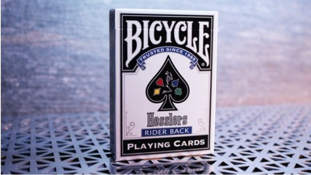 【USPCC撲克】Hesslers Rider Back (Blue) Playing Cards S103049732