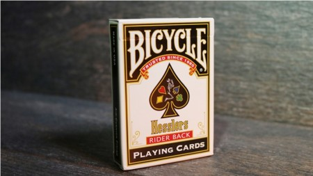 【USPCC撲克】Hesslers Rider Back (Red) Playing Cards S103049733