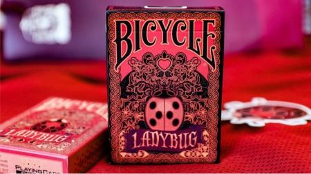 【USPCC撲克】Bicycle Gilded  Ladybug (Black) S103049734