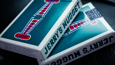 【USPCC 撲克】Modern Feel Jerry's Nuggets (Aqua) Playing Cards S103050803