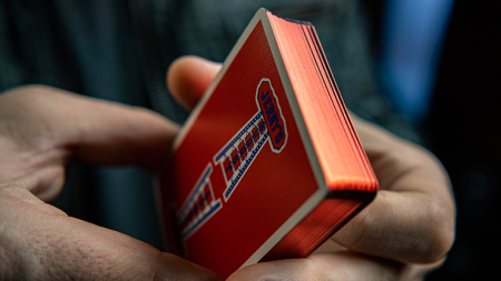 【USPCC 撲克】Gilded Vintage Feel Jerry's Nuggets (Red) Playing Cards S103050810