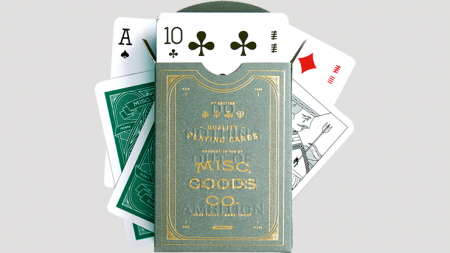 【USPCC 撲克】Misc. Goods Co. Cacti Playing Cards S103050815