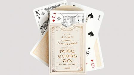 【USPCC 撲克】Misc. Goods Co. Ivory Playing Cards S103050816