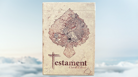 【USPCC 撲克】Gilded Testament Playing Cards S103050825