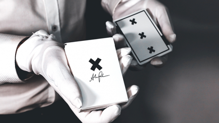 【USPCC 撲克】X Deck (White) Signature Edition Playing Cards by Alex Pandr S103050830