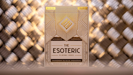 【USPCC 撲克】Esoteric: Gold Edition Playing Cards by Eric Jones S103050861