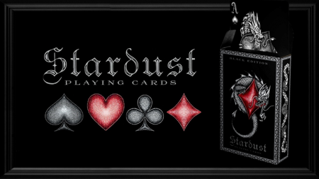 【USPCC 撲克】Stardust Black Edition Playing Cards S103050868