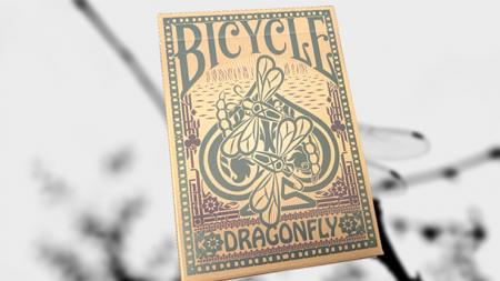 【USPCC 撲克】Bicycle Dragonfly (Tan)撲克S103050880