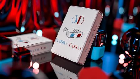 【USPCC 撲克】3D撲克by Nacho Montenegro S103050882