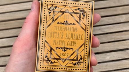 【USPCC 撲克】Cotta's Almanac #3 變型 撲克 S103050887