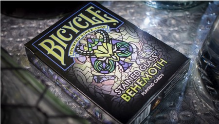 【USPCC撲克】Bicycle Stained Glass Behemoth S103049686