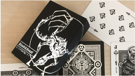 【USPCC撲克】Blood and Beast (Silver) Playing Cards	 S103049724