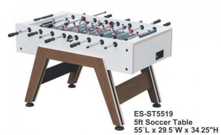 【線上體育】手足球台 ES-ST5519 5尺 足球台 (木紋腳座)-M039588