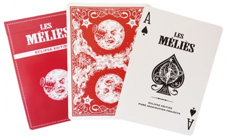 【USPCC撲克】Les Melies Red Eclipse Playing Cards by Pure Imagination ProS103049563