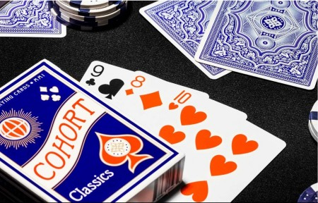 【USPCC撲克】BLUE COHORT PLAYING CARDS S103049753
