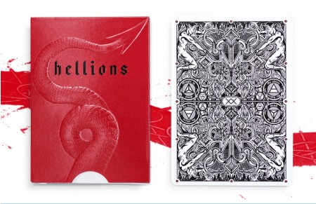 【USPCC撲克】Madison Hellions V3 Playing Cards