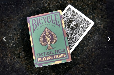 Bicycle  軍事牌,技術牌撲克綠色【USPCC撲克】S103049616