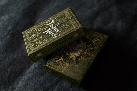 【USPCC撲克】The Thorns 綠 Playing Cards S103049270