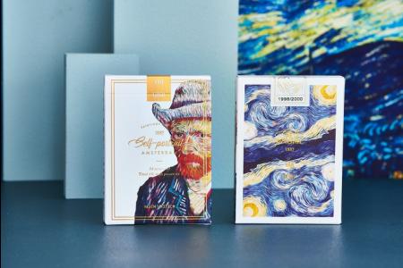 【USPCC 撲克】Van Gogh (Self-Portrait) Playing Cards S103050864