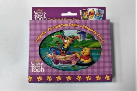 【USPCC撲克】迪士尼 WINNIE 維尼熊 橋牌禮盒(2付裝)原廠進口