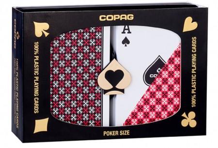 【USPCC撲克】Copag 1546 Plastic Playing Cards Bridge Size Regular Index B S103049573