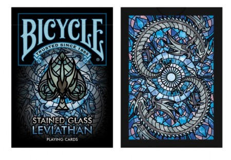 【USPCC撲克】Bicycle Stained Glass Leviathan S103049643