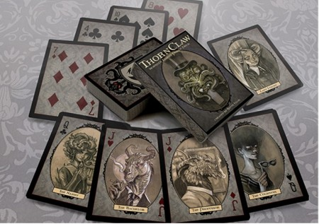 【USPCC撲克】Thornclaw Manor Playing Cards by Steve Ellis S103049531
