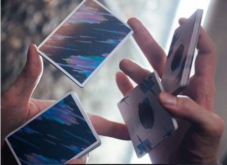 Pulse blue LTD cardistry Playing Cards【USPCC撲克】 S103049464