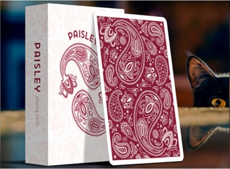 【USPCC撲克】Paisley (Ruby Red) Playing Cards S103049730
