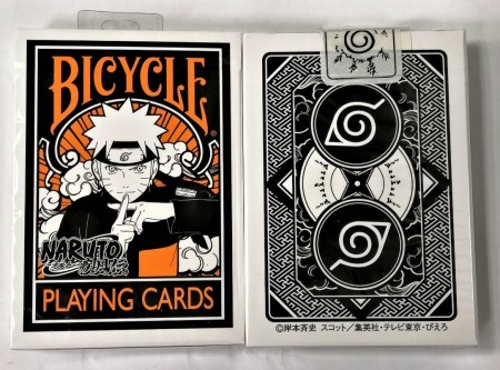【USPCC撲克】BICYCLE NARUTO SHIPPUDEN PLAYING CARDS