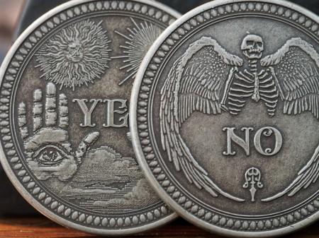 【USPCC撲克】Oracle Antique 鍍銀幣 S103049699-8