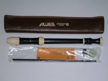 AULOS #503B 高音直笛 英式 日本製(全新產品)