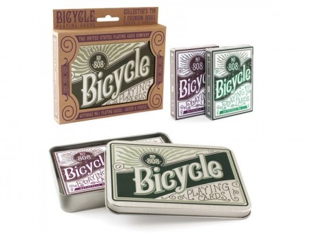 【USPCC撲克】Bicycle Retro Tin Set (1套2幅含收藏盒)  S103049223
