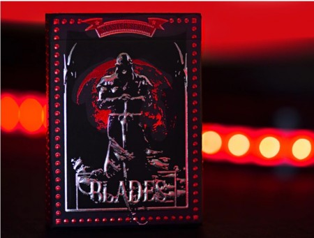 MASTER SERIES BLADES BLOOD MOON foil decks playing cards【USPCC撲克】S103049593